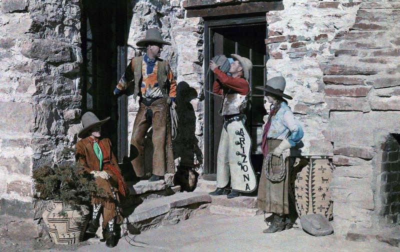 Аризона – ранчо, на котором гости могут почувствовать себя ковбоями. Автор фото Клифтон Р. Адамс