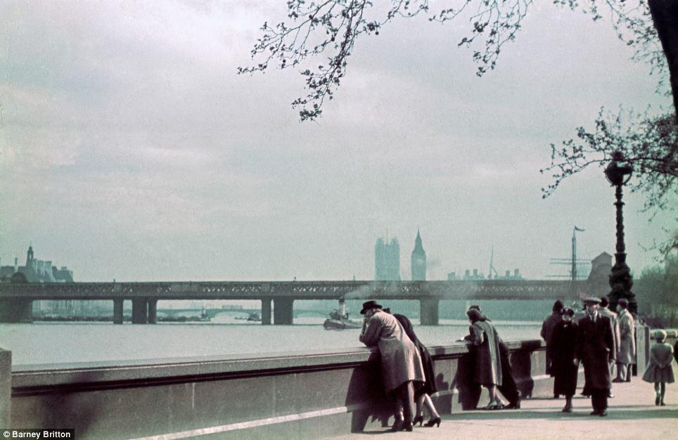 1939 год в цвете. Мир в шаге от войны Авто-мото,kodachrome,20 век в цвете,Знаменитости,1930-е,agfacolor