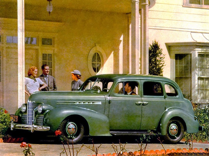 1939 Oldsmobile 60 4-door sedan