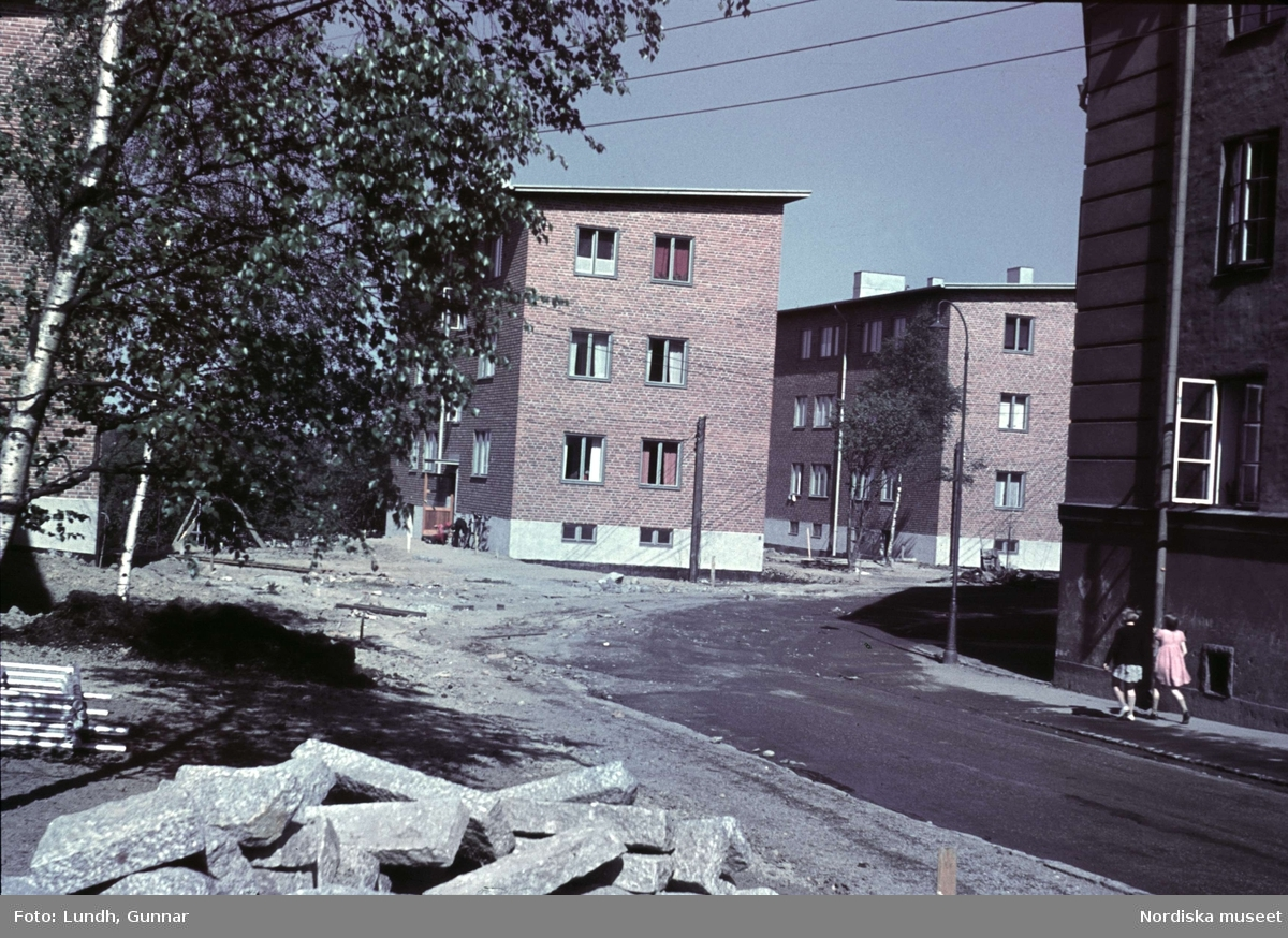 1939 Stockholm Groendal district Lundh Gunnar