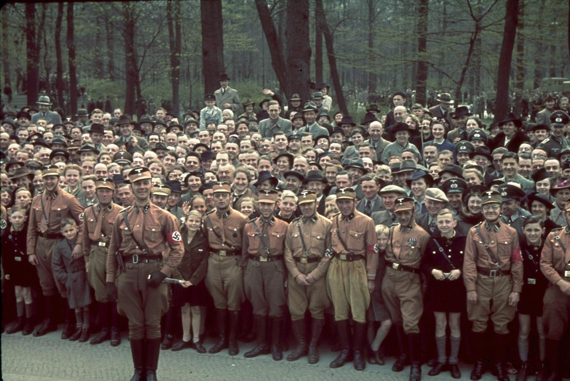 1939 Берлин. Торжества по случаю 50-летия со дня рождения Адольфа Гитлера