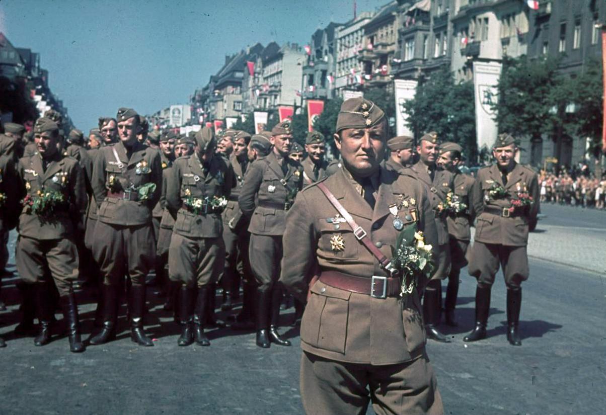 On return from Spain Legion Condor parades 6 june Berlin1