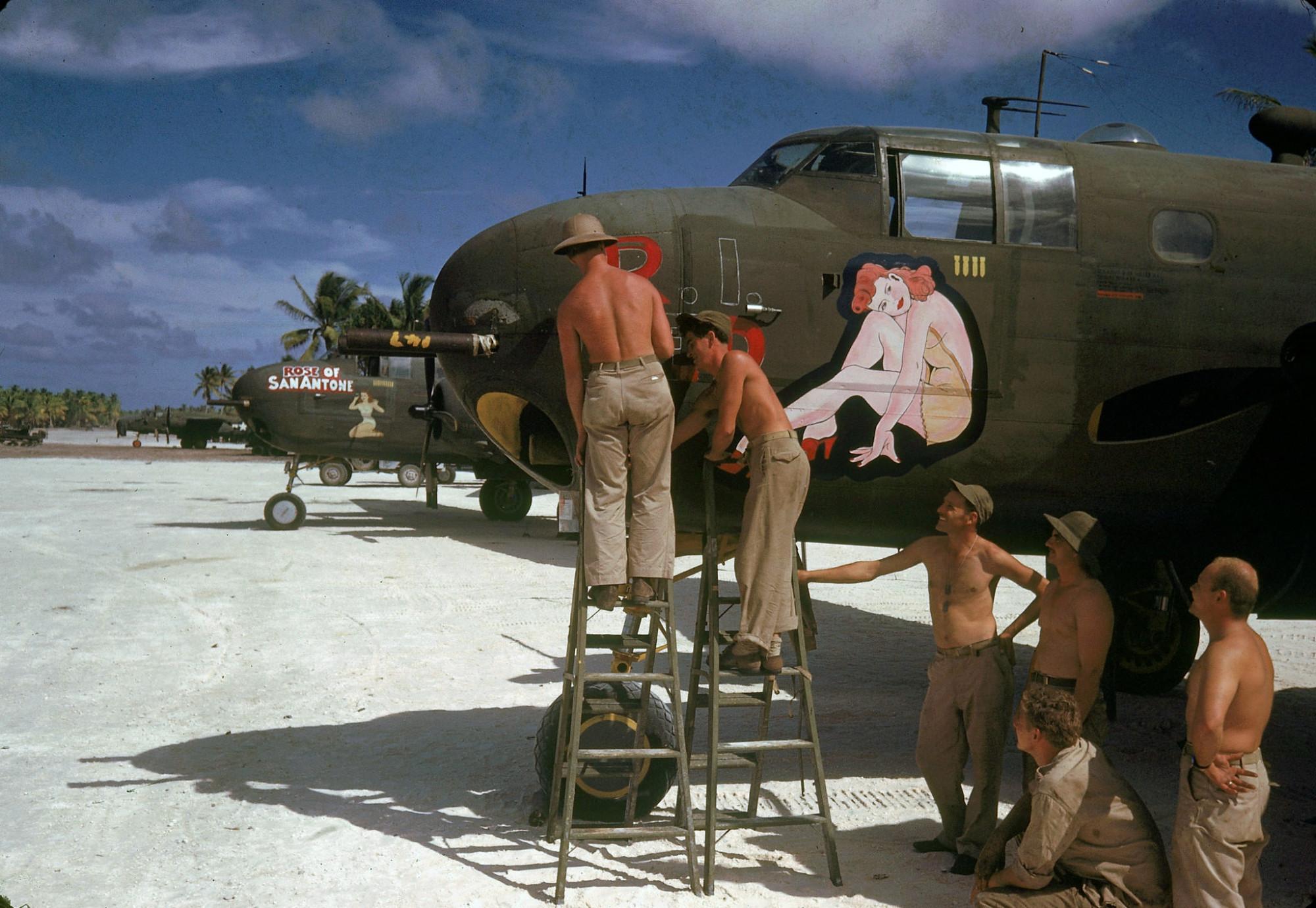 1944 Tarawa Gilbert Islands by J.R. Eyerman