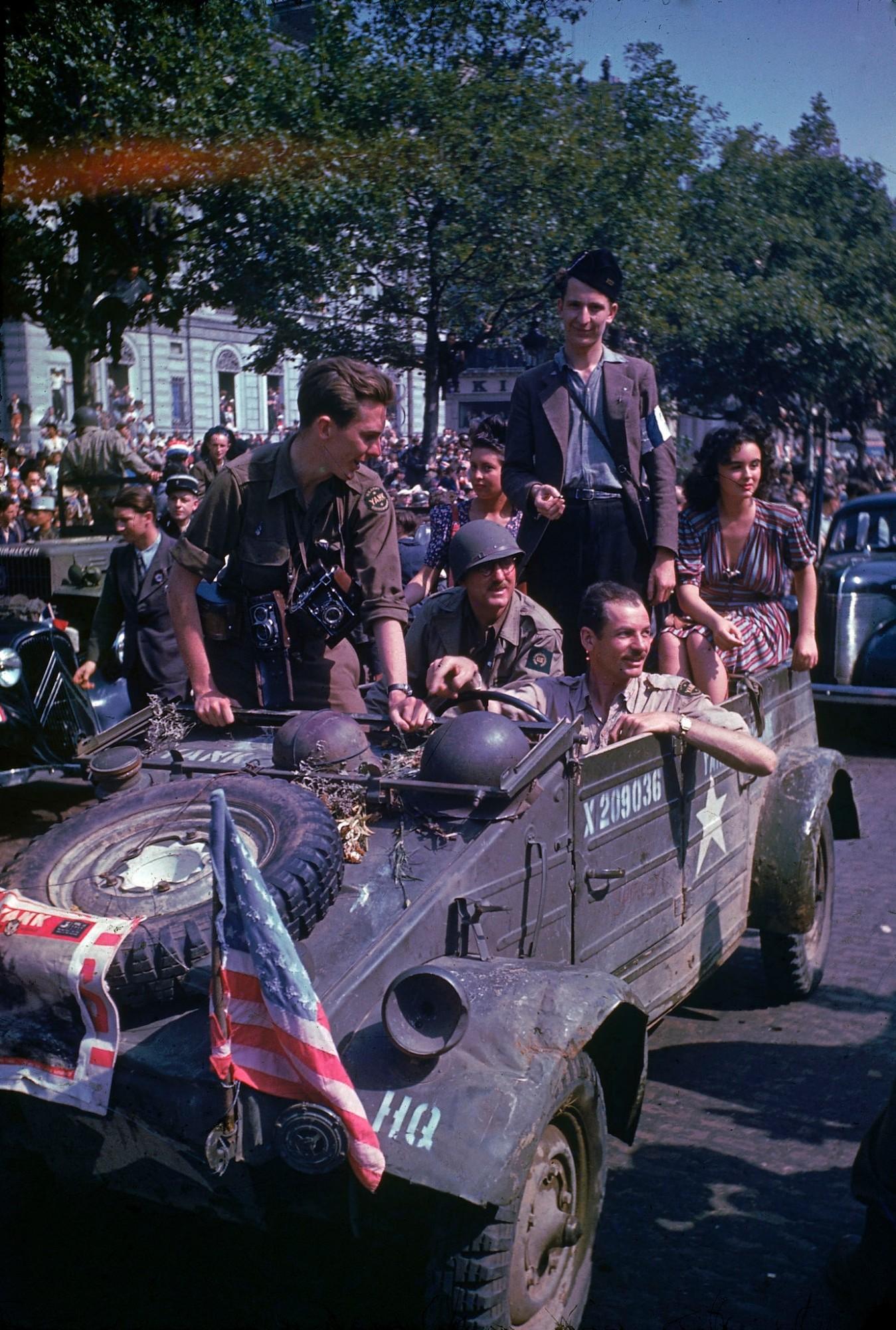 1944 Paris august 26 Frank Scherschel8