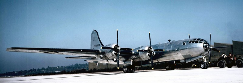 1944 начало применения During WWII 1119 B-29 Superfortresses were produced at Renton