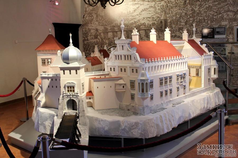 Замок в Гродно (макет)