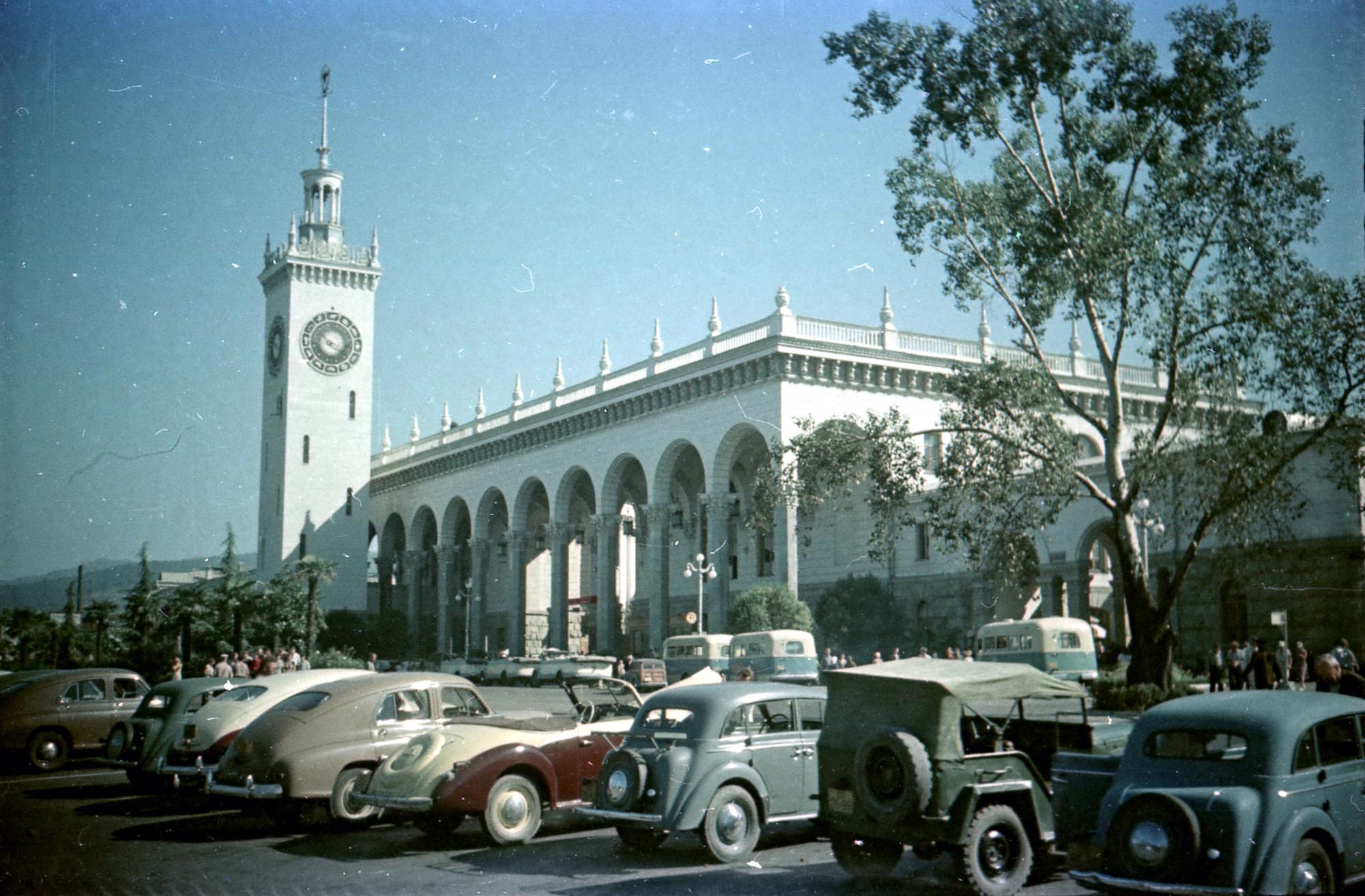 1956-57 вокзал Сочи