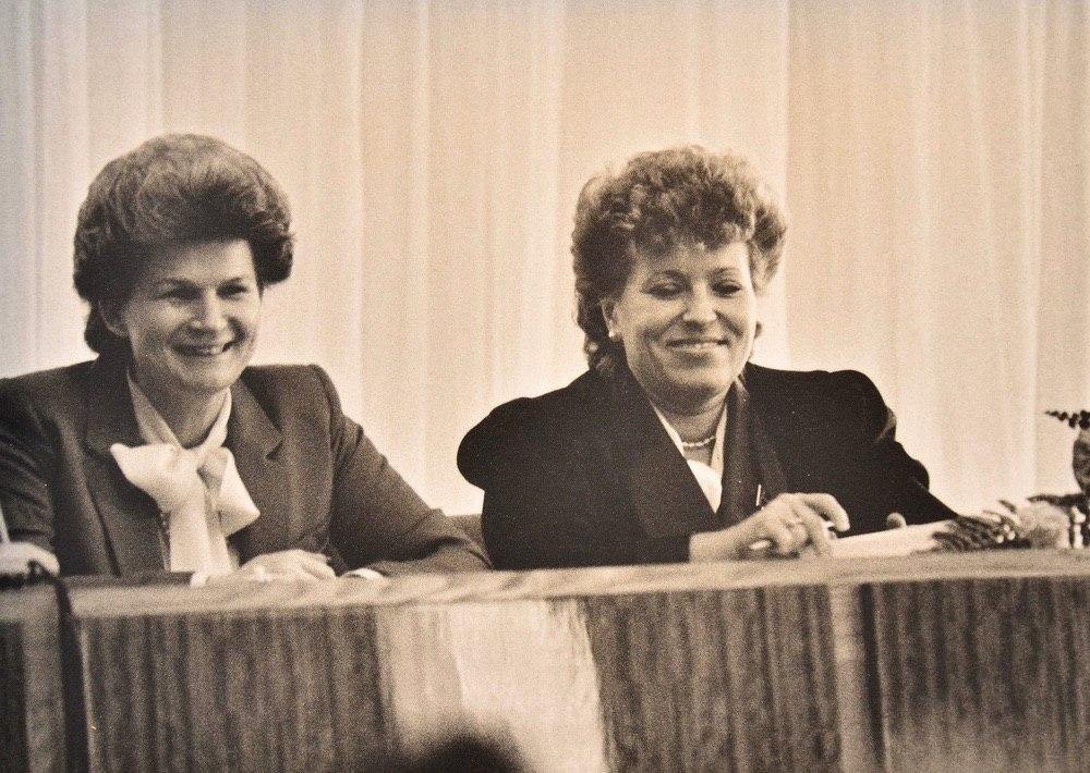 Терешкова и Матвиенко, 1988