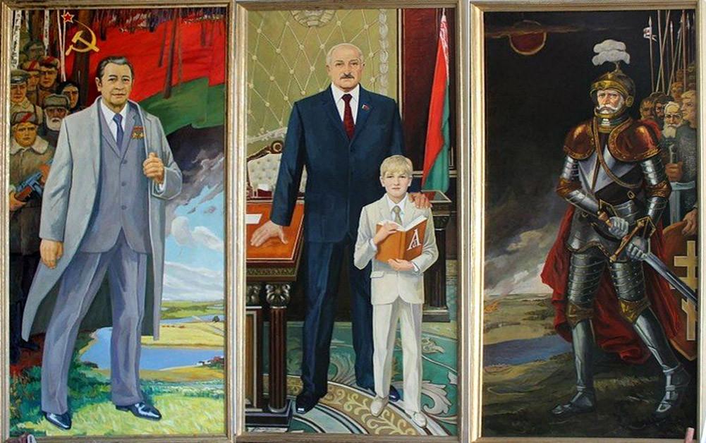 Триптих Алексея Панцюка-Жуковского Моя Беларусь