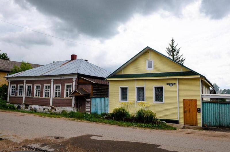 Торжок, дом с сайдингом