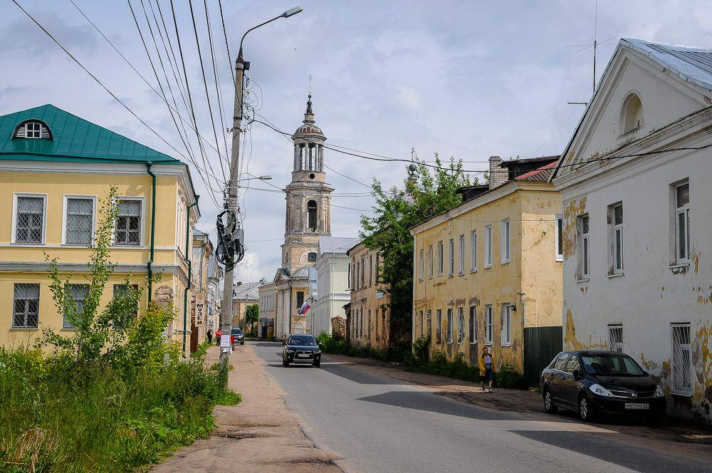 Торжок, улица Луначарского
