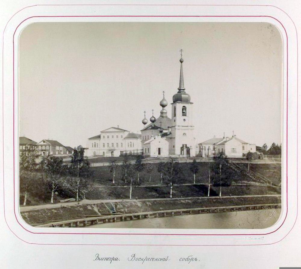 Вытегра Воскресенский собор 1881 Ярослав Пекарский2