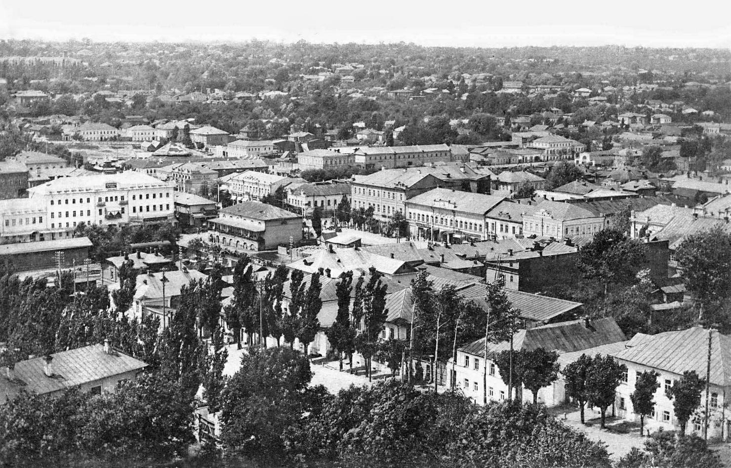 1868 Курск, вид с колокольни2 1900е