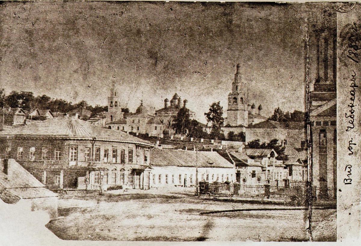1882 первый известный снимок города Чебоксары