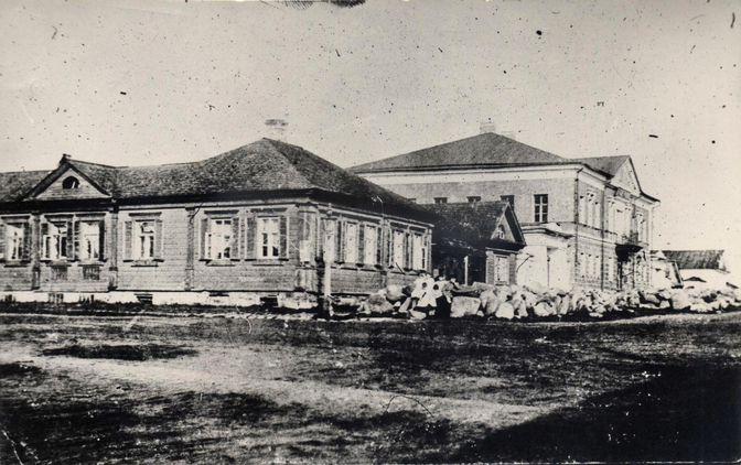 1870е Дом Чудова, угол ул. Л. Чайкиной и ул.Тимирязева