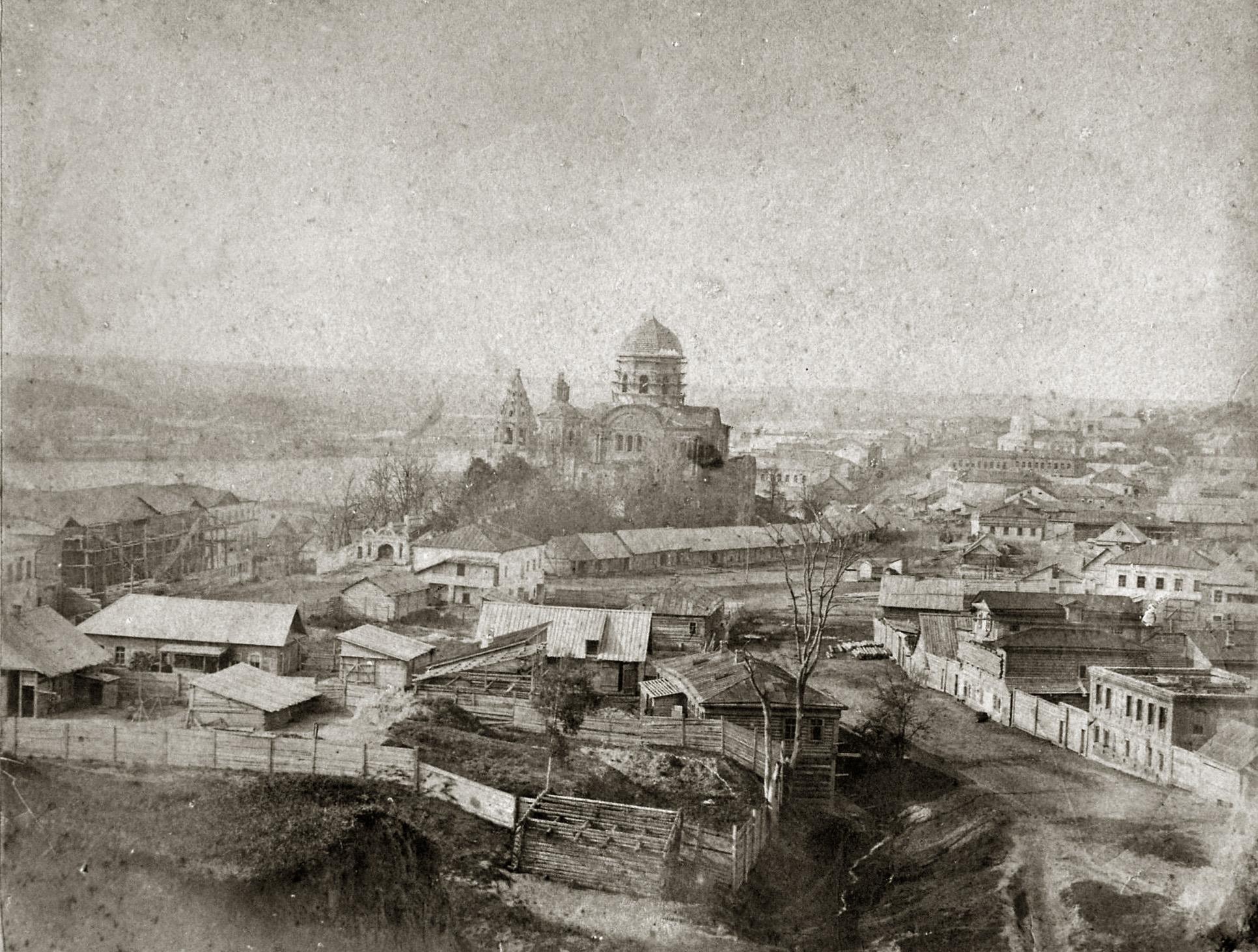 1871 Вид на Брянск с Покровской горы. Роберт Драль. Фото из архива Ивана Яковлевича Поручикова2