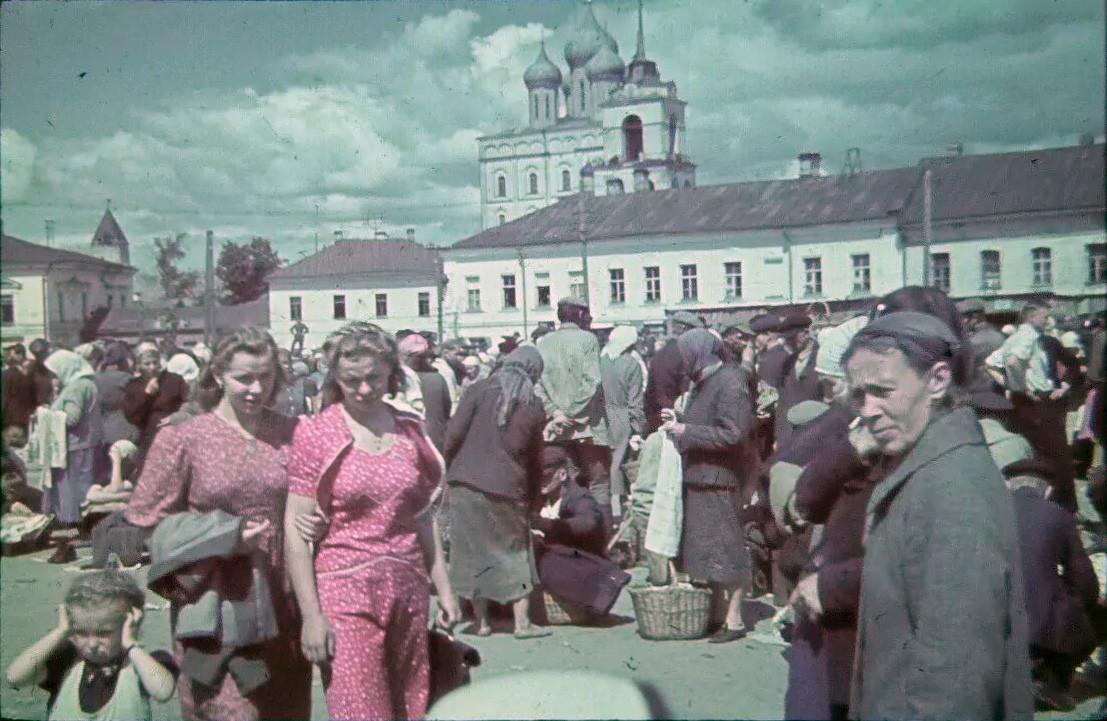 1943 Псков. Советская площадь3