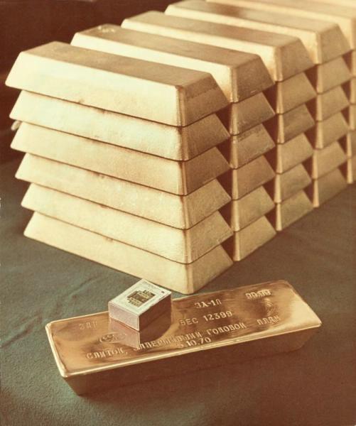 1970 Золото пробы 99,99. Бальтерманц