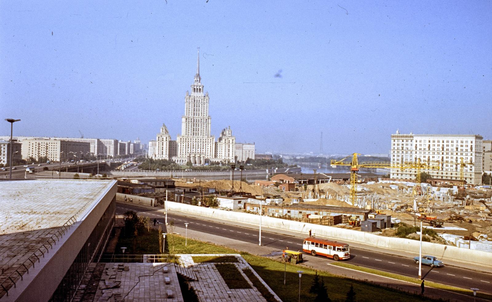 1970 Москва fortepan