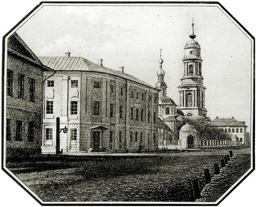1848 Калуга. Вид на Благовещенский храм
