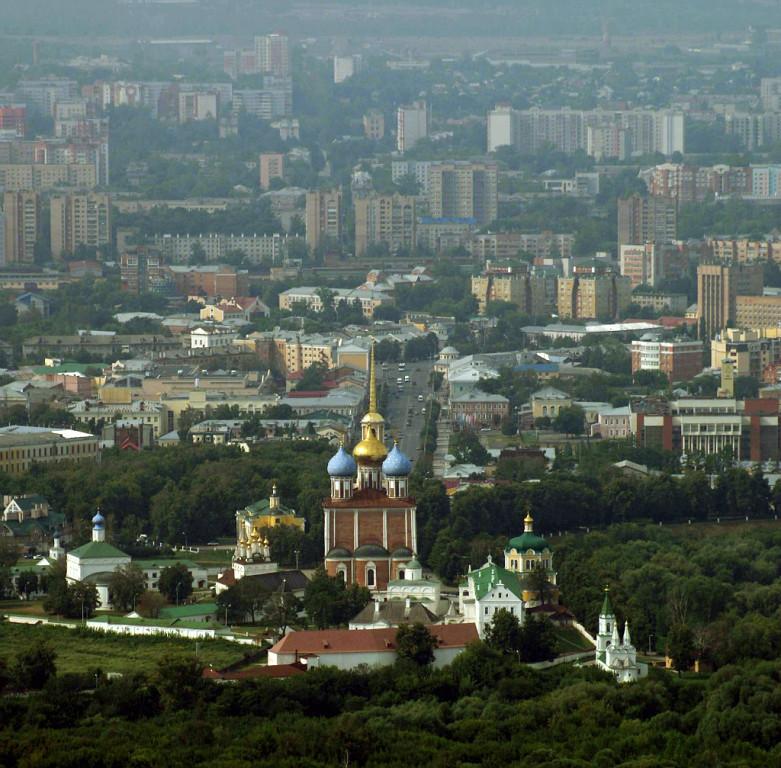 Рязань. Вид от Кремля