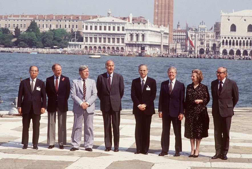 1980 G-7 by Georges Bendrihem AFP Getty Images