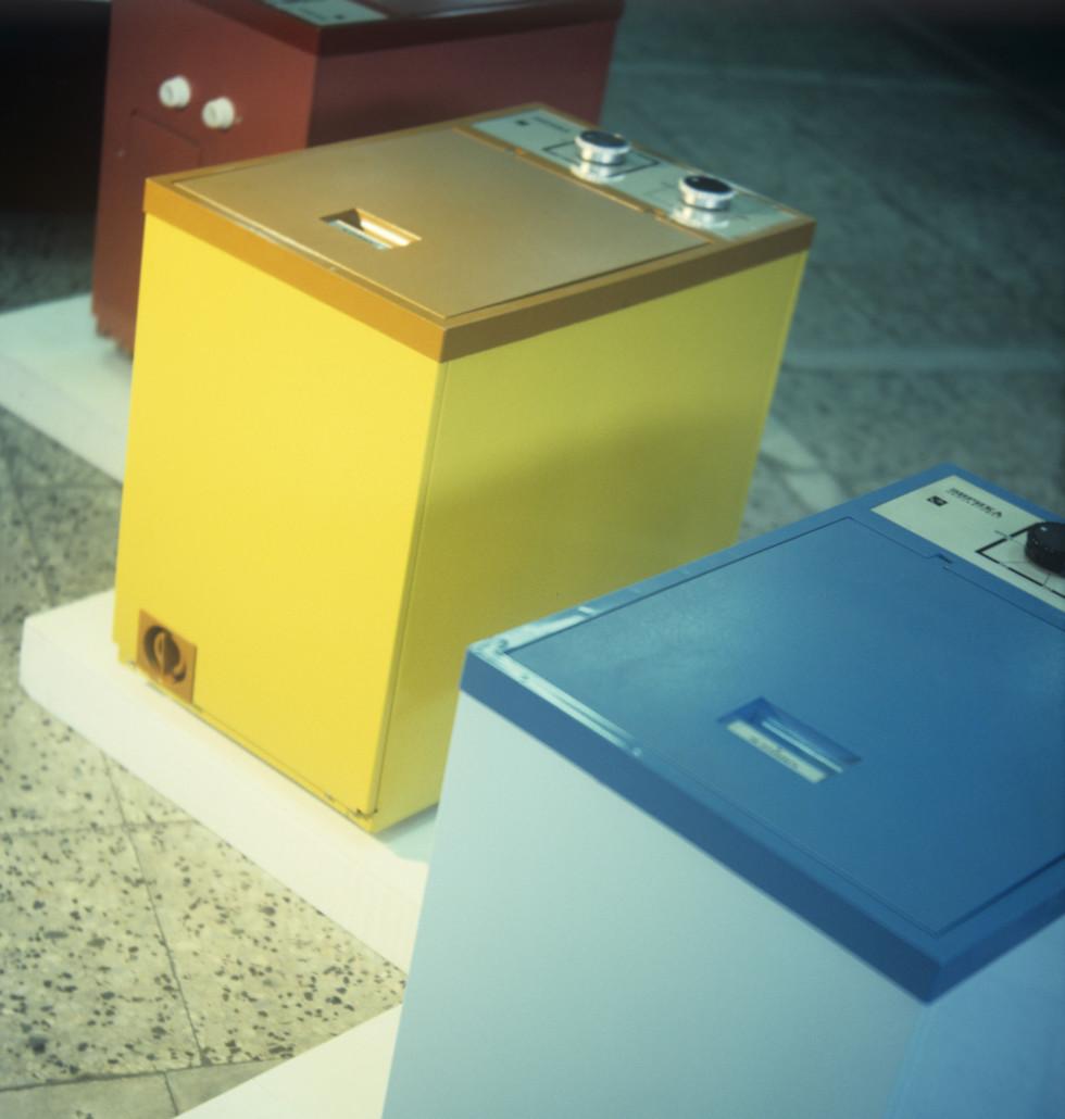 1980 Продукция Московского завода Прожектор - стиральная машина-автомат Эврика. Борис Ушмайкин, РИА