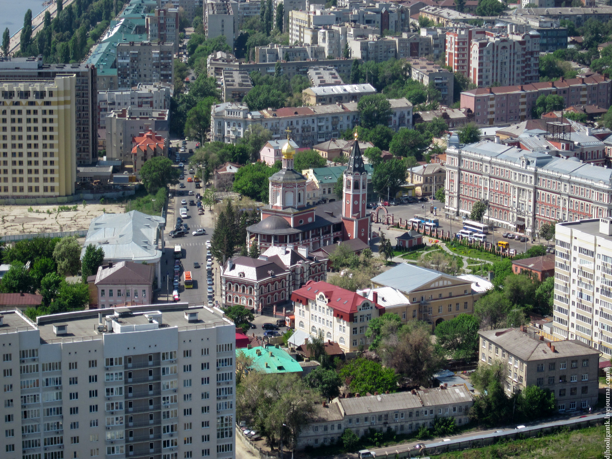 Саратов 2012 Троицкий собор на Музейной площади