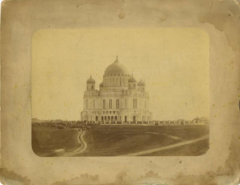 1874 Вятка. Вид на Александро-Невский собор. В.Е.Бишневский3