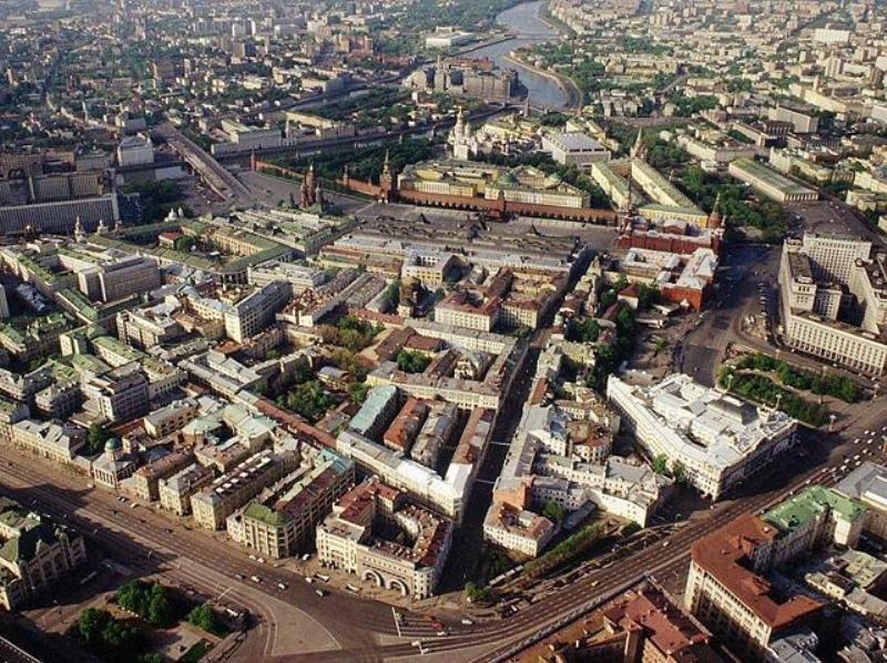 Москва 1993 Китай-город