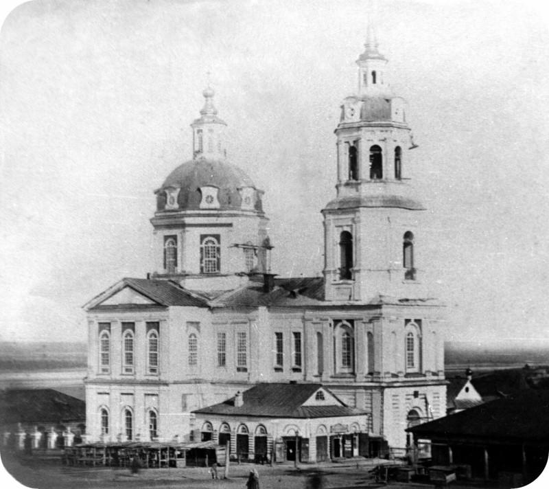 1874 Вятка. Спасский собор. Бишевский В.Е.