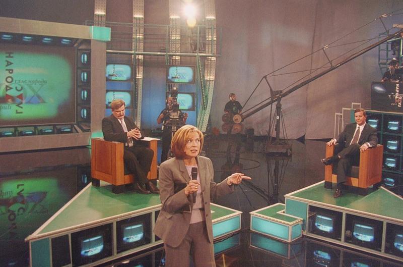 2000 Евгений Киселёв и Кох в передаче Светланы Сорокиной