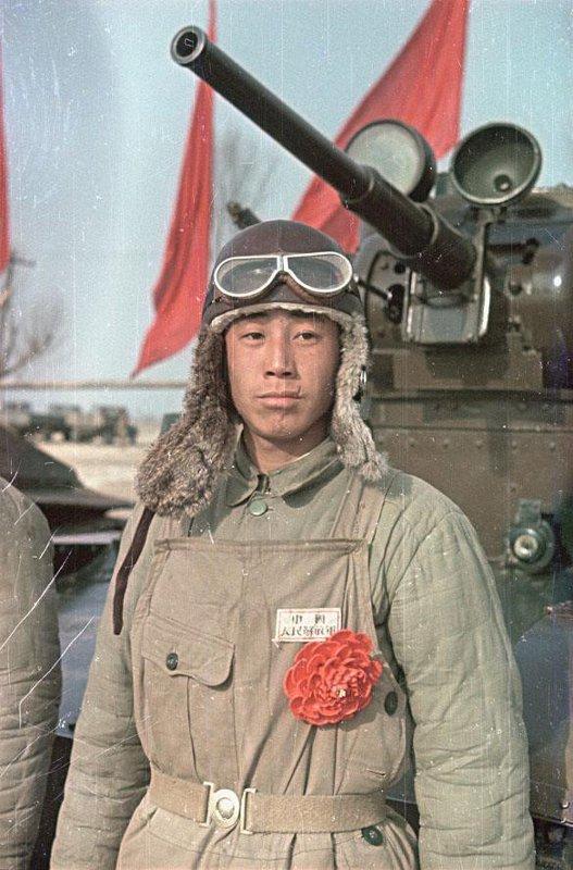 1949 Танкист - боец Народно-освободительной армии Китая (НОА).