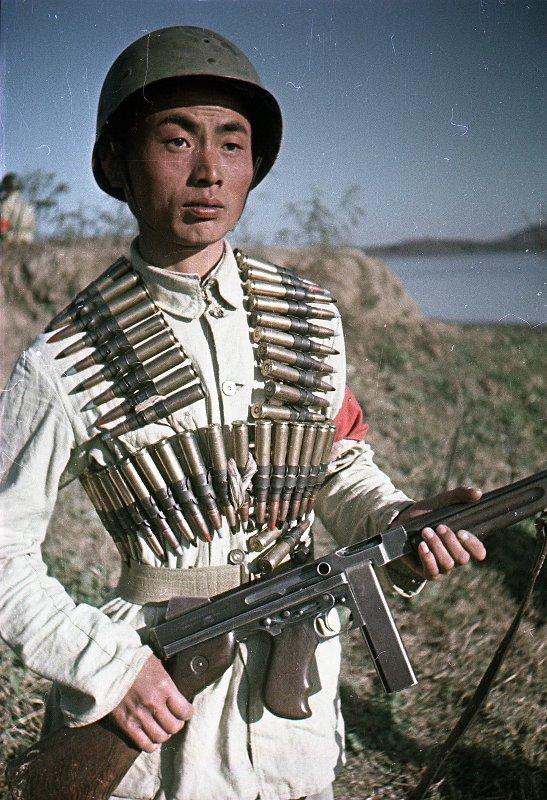1949 Боец Народно-освободительной армии Китая