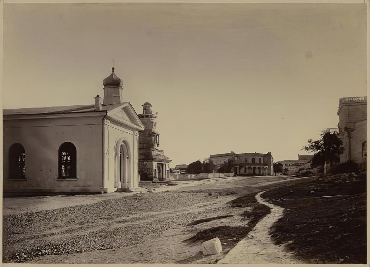 Севастополь ‒ город руин. 1872 год Севастополь,1870-е