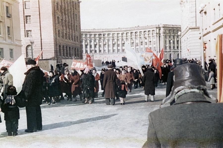 Норильск 1 мая 1960