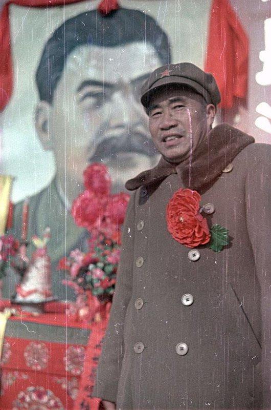 1949 Главнокомандующий Народно-освободительной армией (НОА) Китайской Народной Республики Чжу Дэ. В день юбилея И.В. Сталина