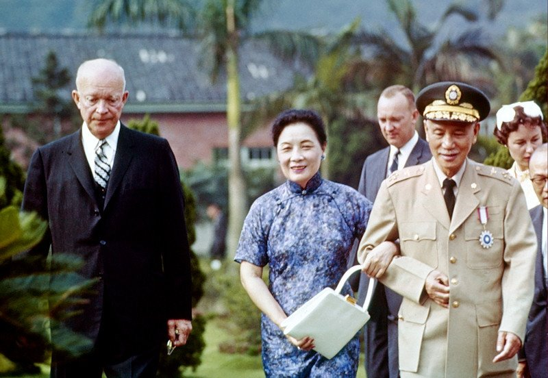 1960 Eisenhower in Taipei3