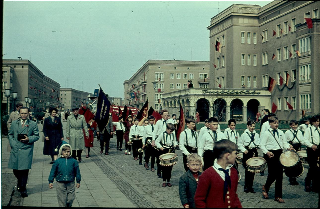 Stalinstadt 1 May 1960