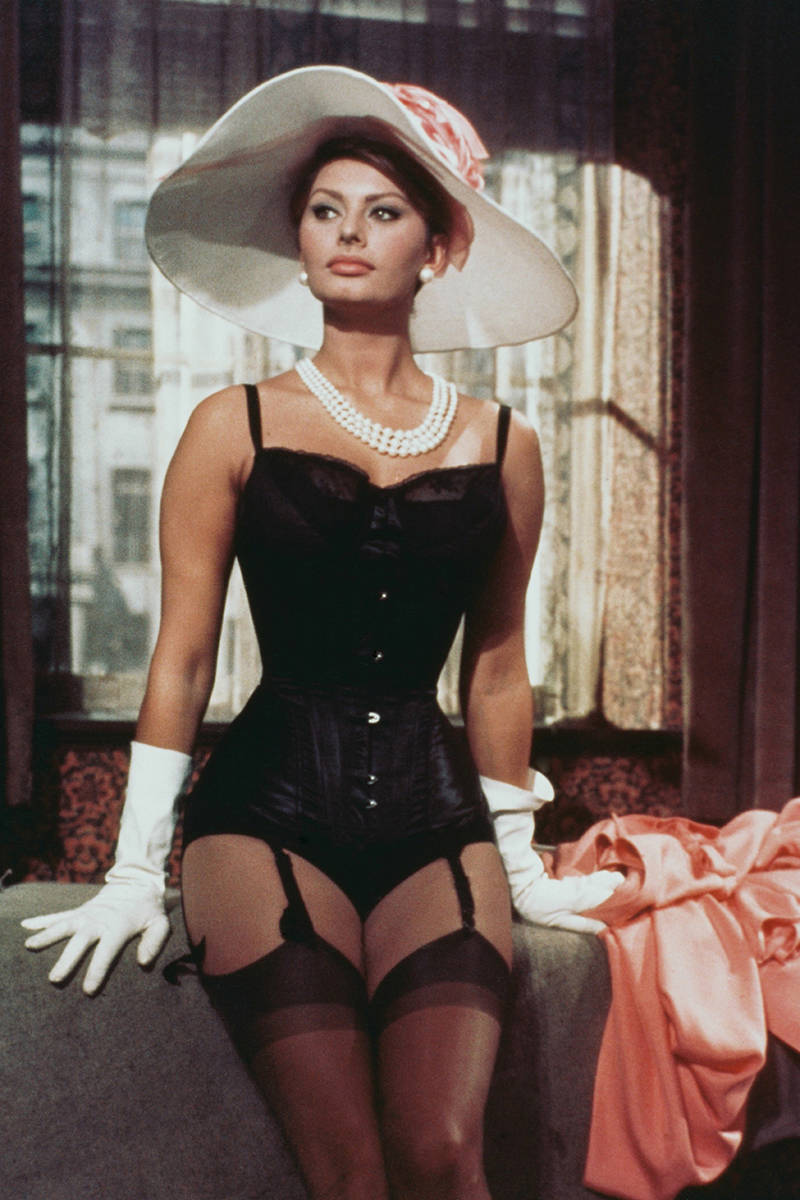 Sophia Loren as Epifania Parerga in The Millionairess 1960