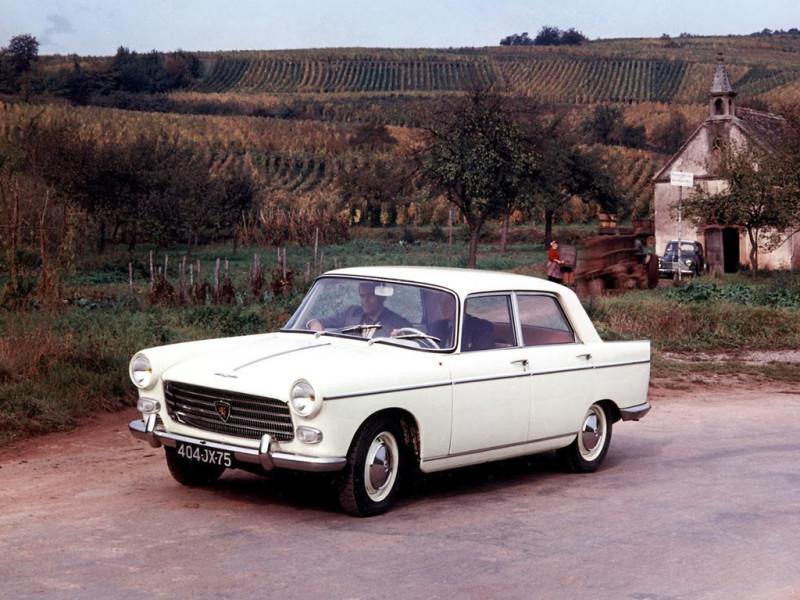 1960 Peugeot 404 Saloon