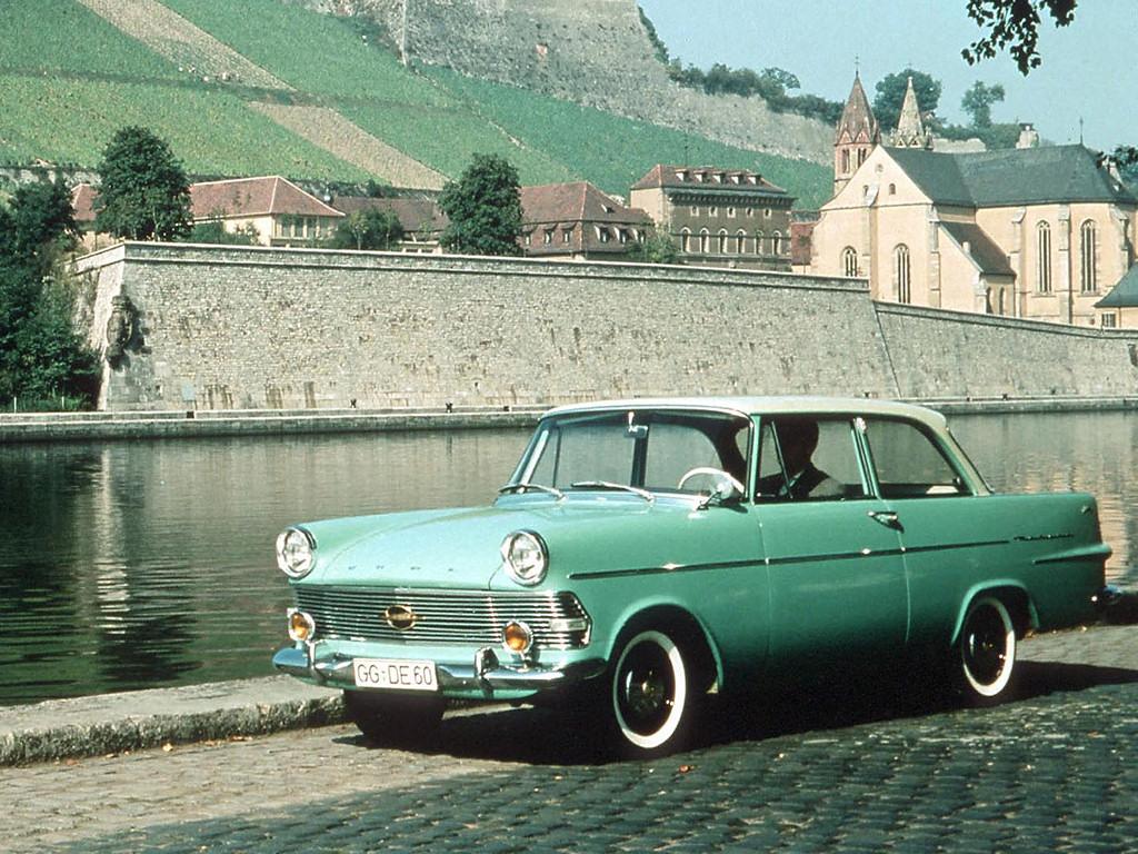 1960 Opel Rekord P2