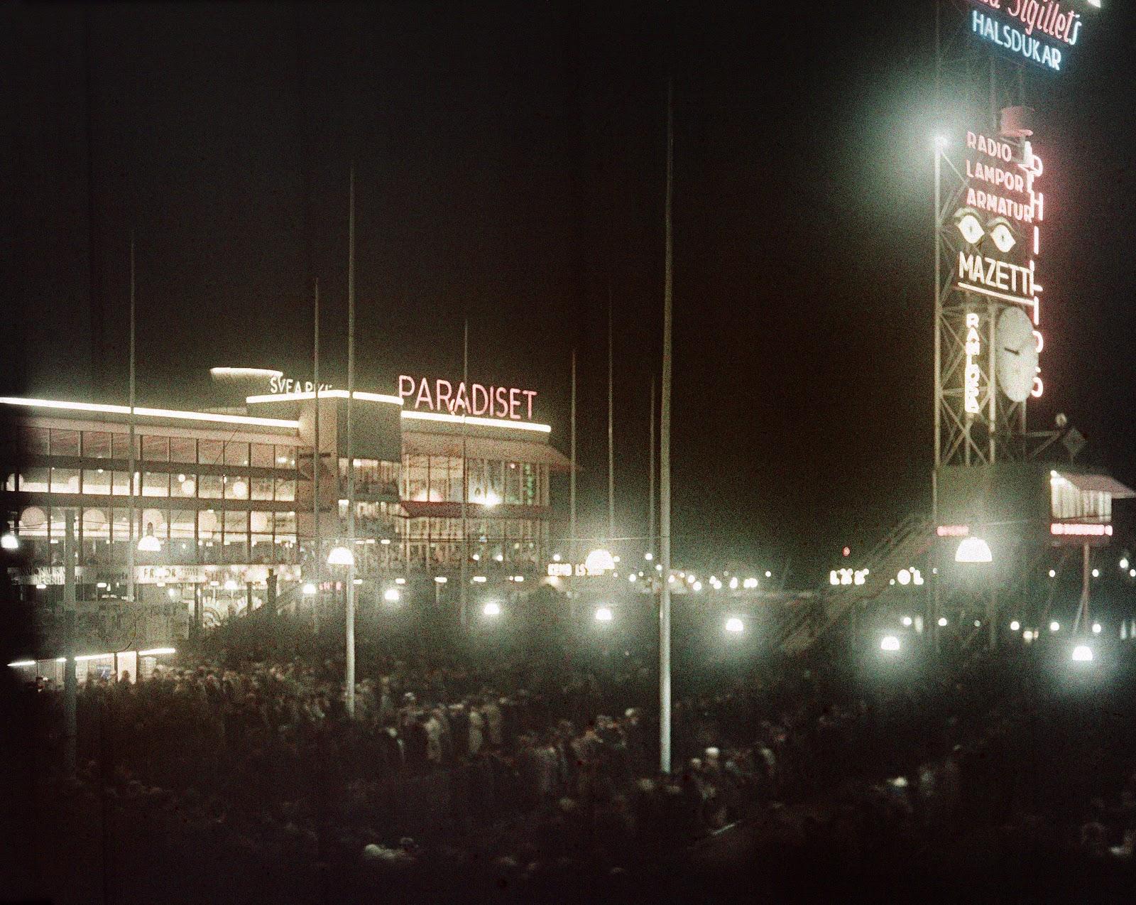 1930 состоялась по своему знаменитая Стокгольмская выставка3