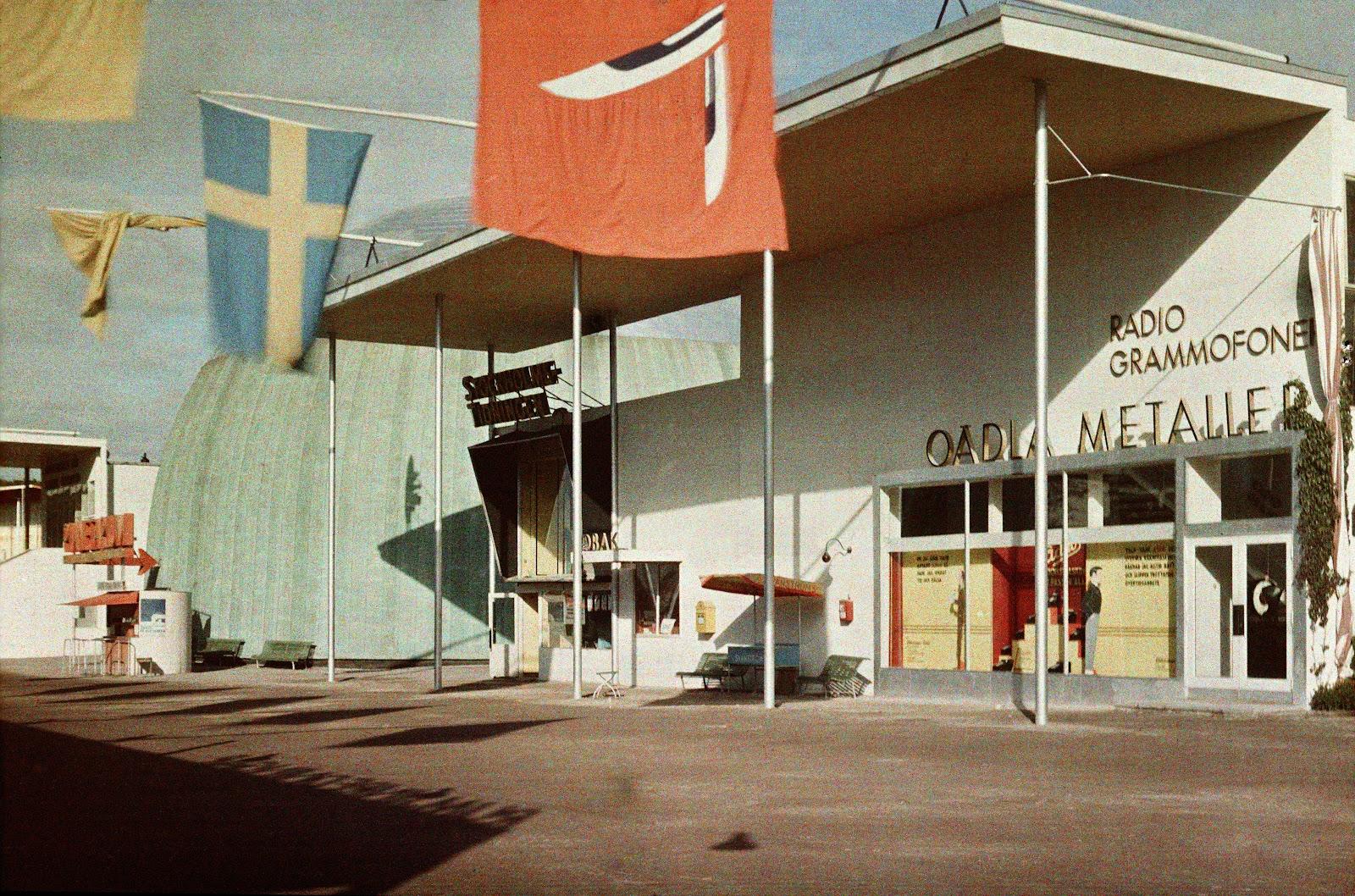 1930 состоялась по своему знаменитая Стокгольмская выставка2