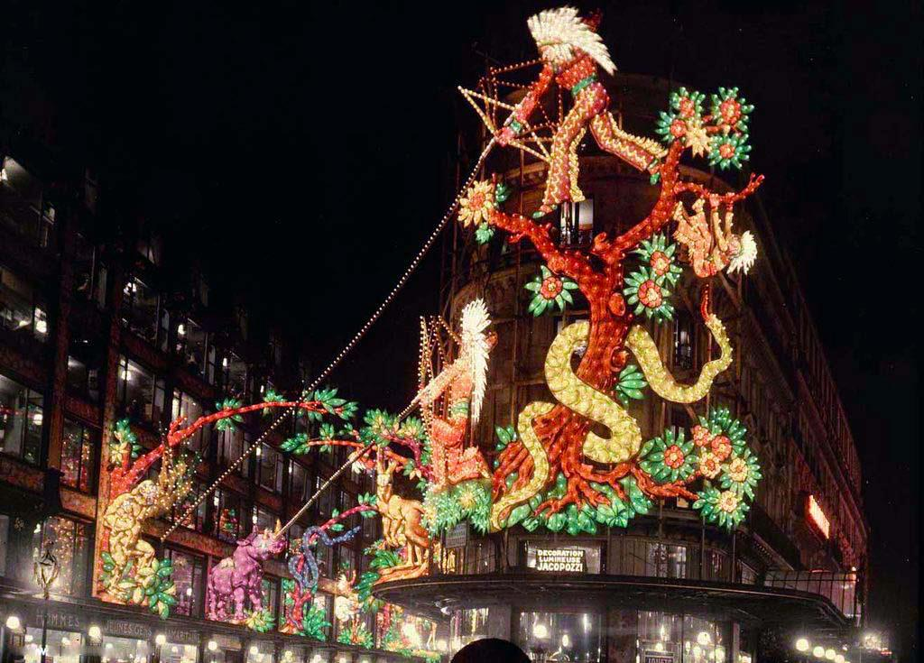 1930 Paris Samaritaine Noel