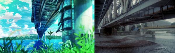 Anime background K vs Photo http://polushkin.livejournal.com/115200.html