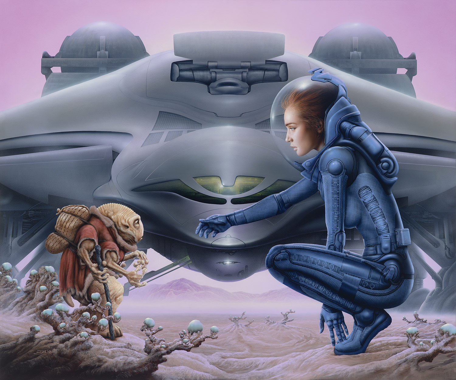 Jim Burns_The Wanderers