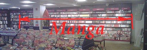 Hamburg Hbf Bookstore manga
