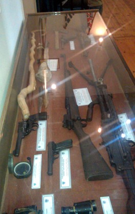 Chania Nautical Museum, The battle of Crete 1941, Weapons