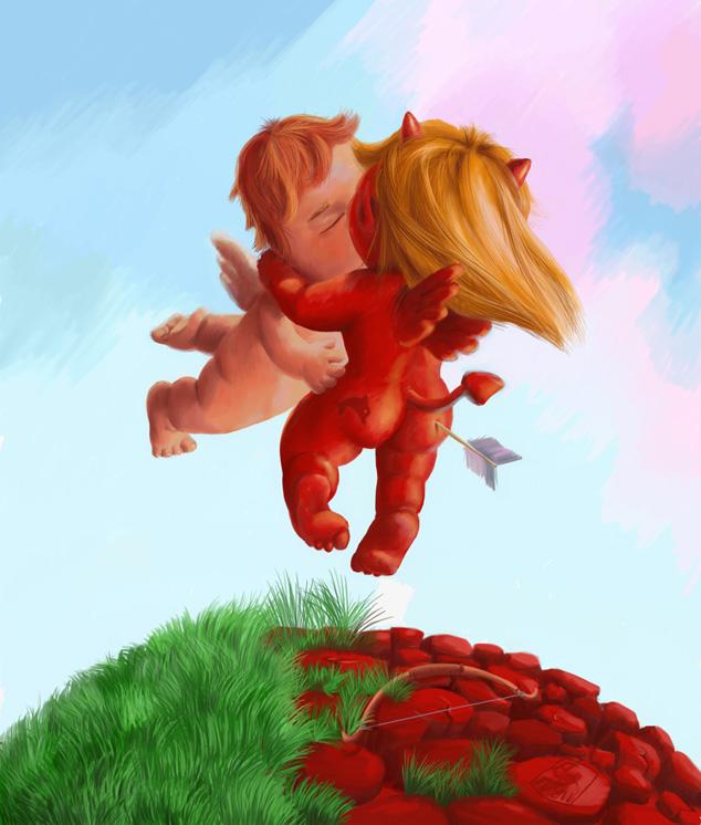 http://ne.manga.ru/view.php?id=22755, voron, ко дню Святого Валентина